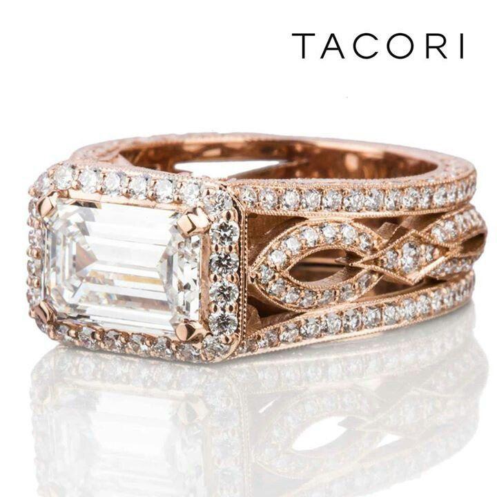 Rose Gold Ring Rose Gold Ring Tacori