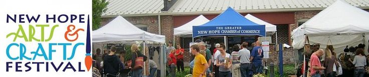 arts and crafts festival september 28 and 29 in new hope pa