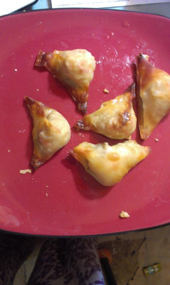 Baked Crab Rangoon | Pinned Recipes I've Made | Pinterest