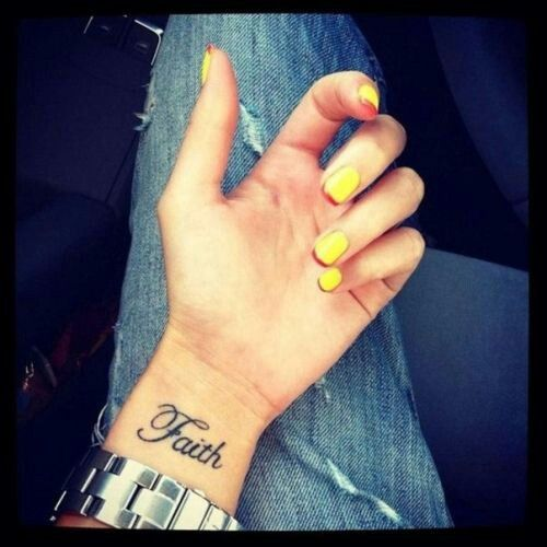 Faith tattoos in different languages online