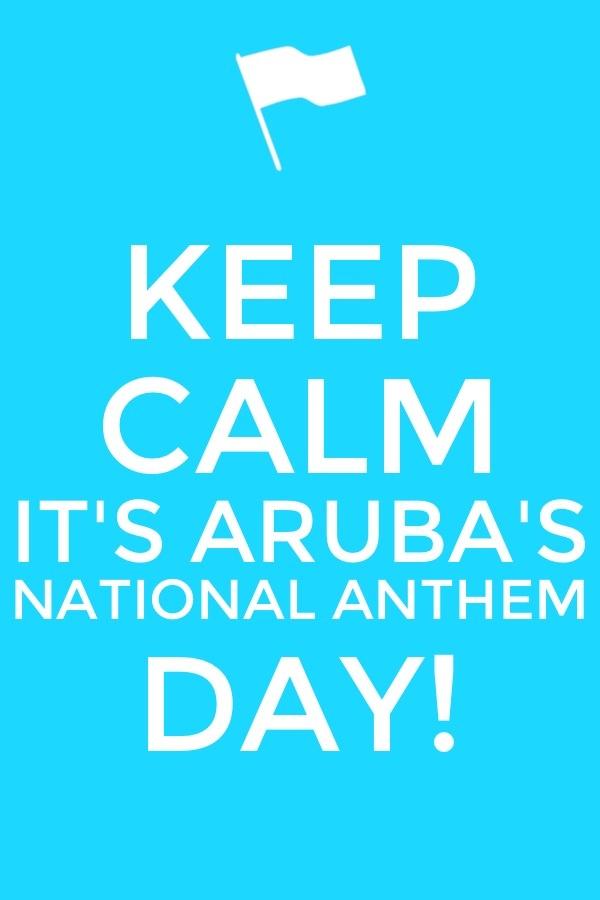 flag day in aruba