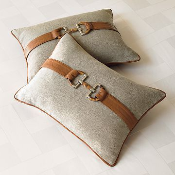 Equestrian pillow