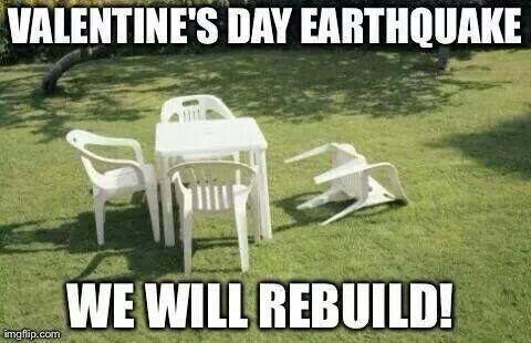 valentine day in south america