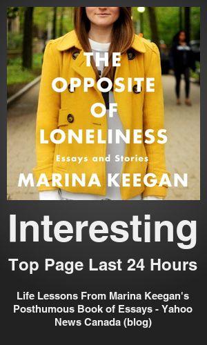 essays on loneliness