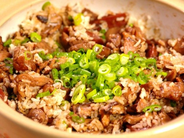 Clay Pot Chicken with Shiitake Mushrooms and Chinese Sausage from ...