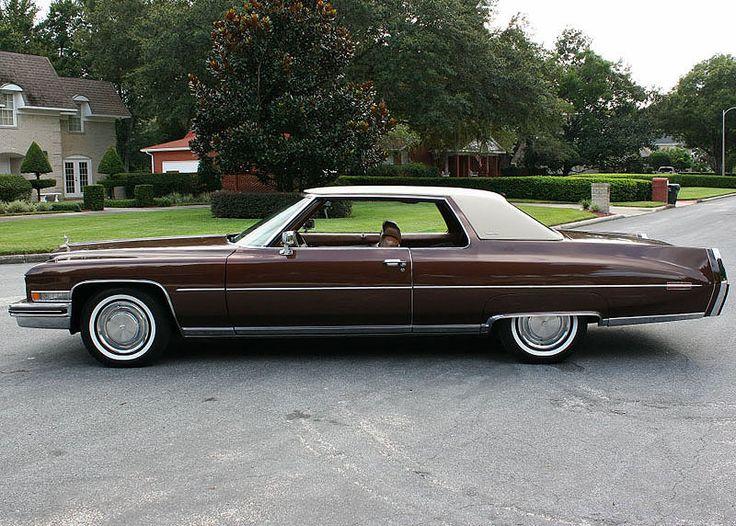 Cadillac Fleetwood Brougham For Sale 1973 Cadillac Coupe de Ville | American Autos 1971 - 1978 | Pinterest