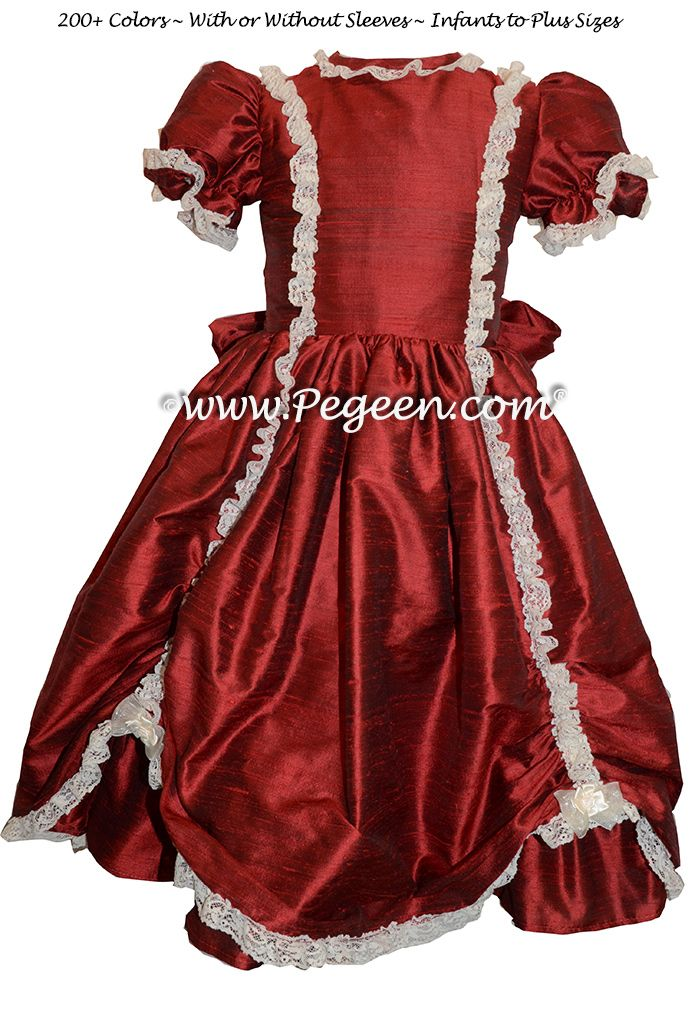 By pegeen com flower girl dresses on holiday nutcracker dresses