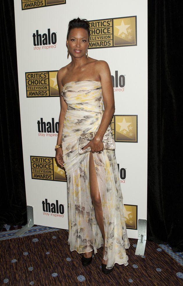 Aisha Tyler at the 2012 Critics' Choice Awards