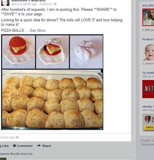 Pizza Balls | recipes | Pinterest