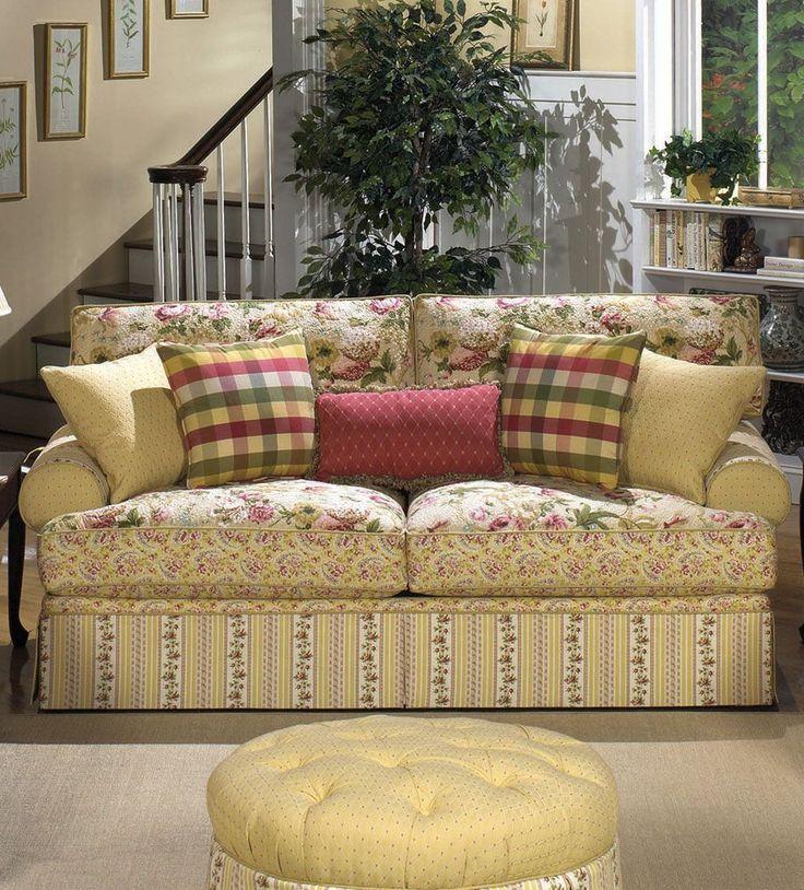 Rose Cliff Collage Sofa