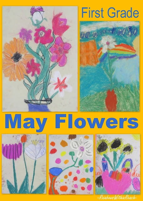 Spring flowers in first grade!!