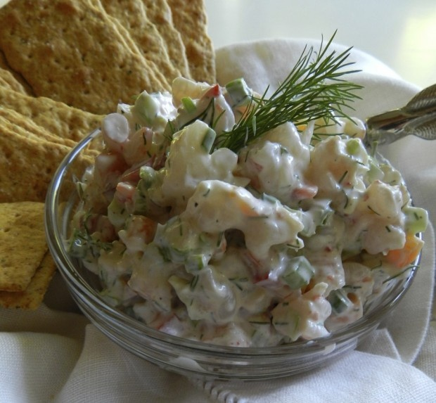 ... with celery and blue cheese salad creamy shrimp and celery salad