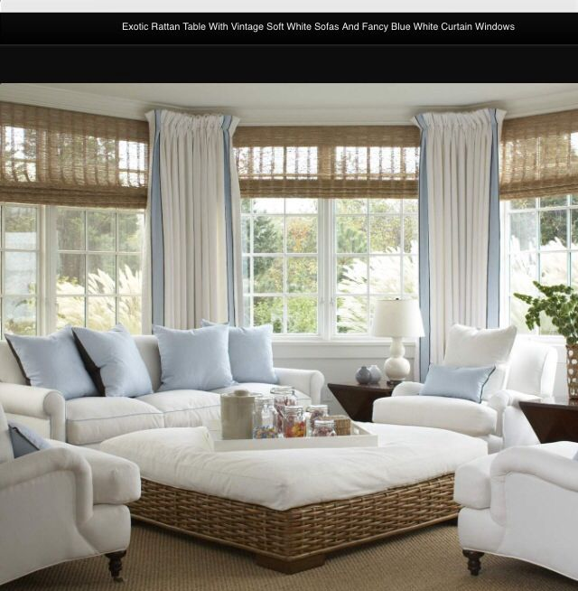 Sunroom furniture change curtains for the home pinterest for Sunroom curtains