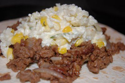 Mexican Sour Cream Rice | Yummy Main Dishes | Pinterest
