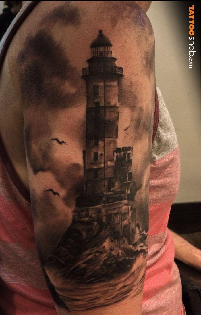 Что означает маяк татуировка