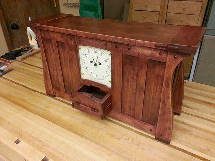 Greene and Greene Inspired Mantel Clock | Arts & Crafts inspiration ...