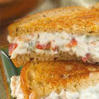 Bacon & Blue on Rye - Smooth cream cheese and tangy blue cheese mixed ...