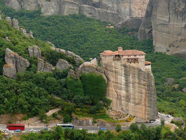 Meteora, Rousanou monastery  Favorite Places & Spaces ...