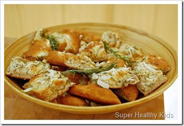 rosemary onion focaccia | Fun food for the boys | Pinterest
