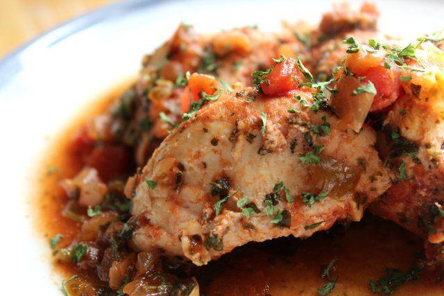 Slow Cooker Salsa Chicken | #Super Healthy Eats | Pinterest