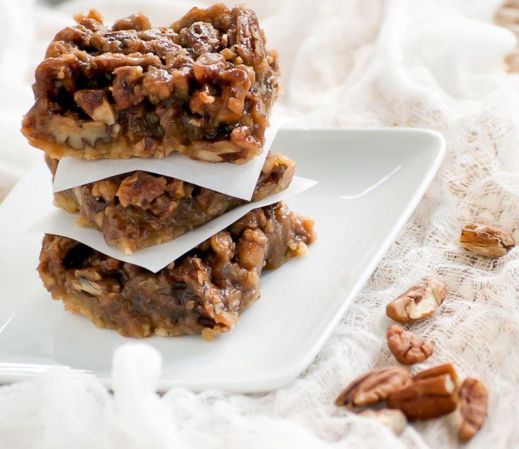 pecan maple bars | eat this | Pinterest