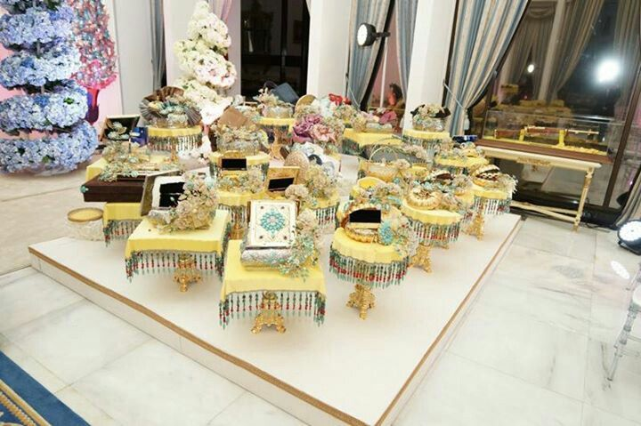 Wedding Gifts For Bride And Groom In Singapore : gifts from both side. Bride and groom ThemesAsian Malay Wedding ...