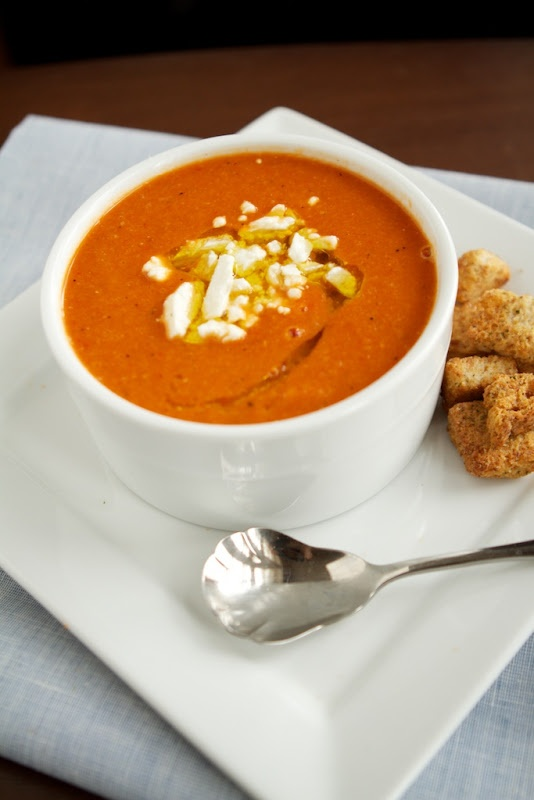 Naturally Ella | Roasted Red Pepper Soup | Naturally Ella