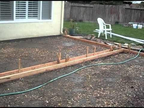 pour a concrete patio lots of training video 39 s on different concrete