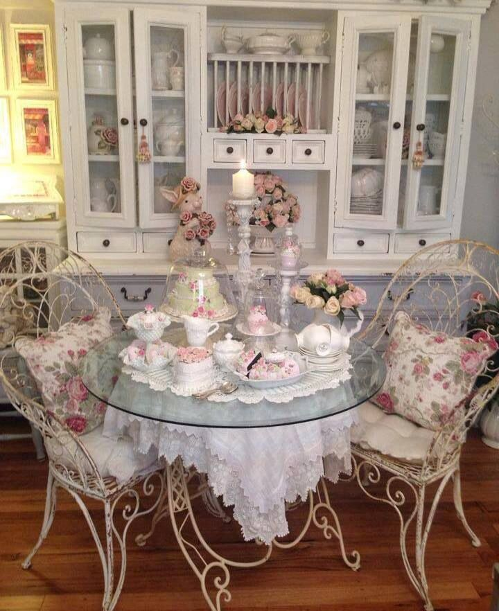 Tea room everything shabby chic pinterest - Shabby chic dining rooms ...