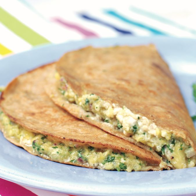Chicken & Mango Quesadilla 2 c. pineapple ½ sm. red onion 1 small ...