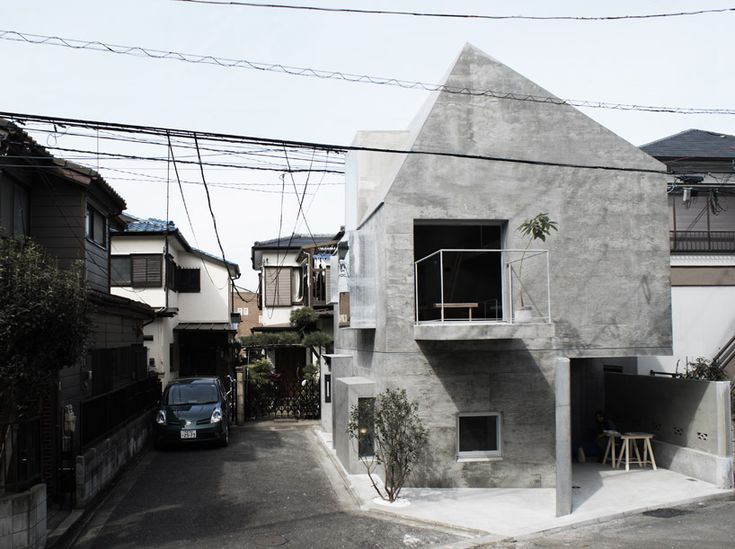'FKI house', Tokyo, Japan by japanese urban architecture office