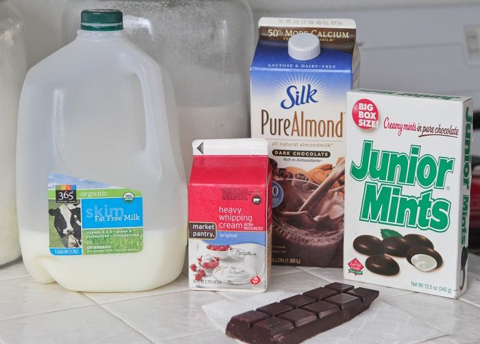Creamy Junior Mint Hot Chocolate - Picky Palate