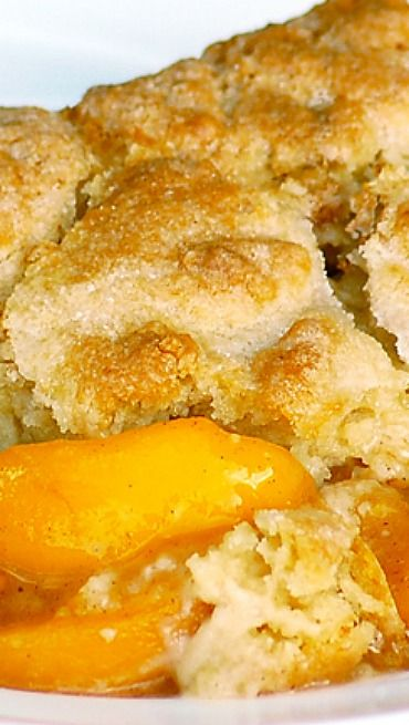 Southern Peach Cobbler | Sweet Recipes | Pinterest