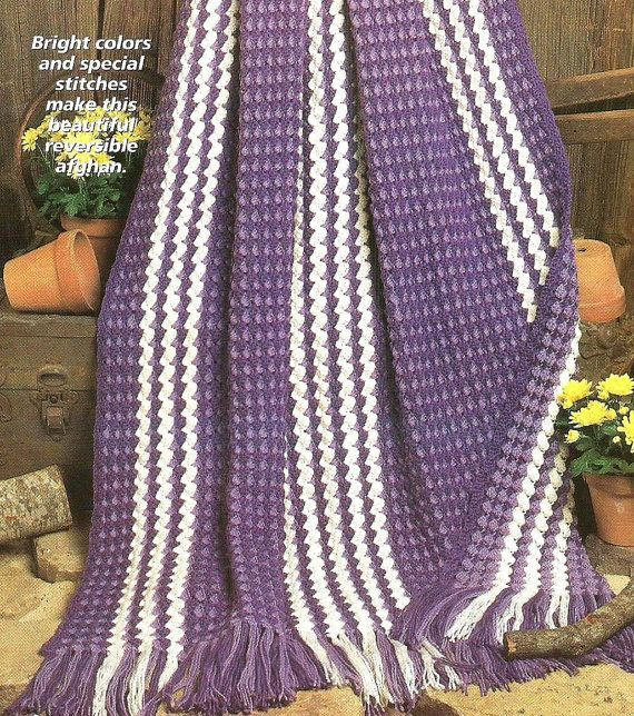 Crocheting An Afghan : Easy Beginner Crochet Crocheting Pattern for an IRIS MELODY AFGHAN ...