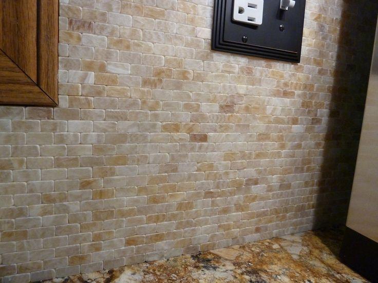 groutless tile backsplash submited images