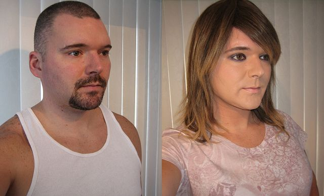 Transgender man shares revealing before and after
