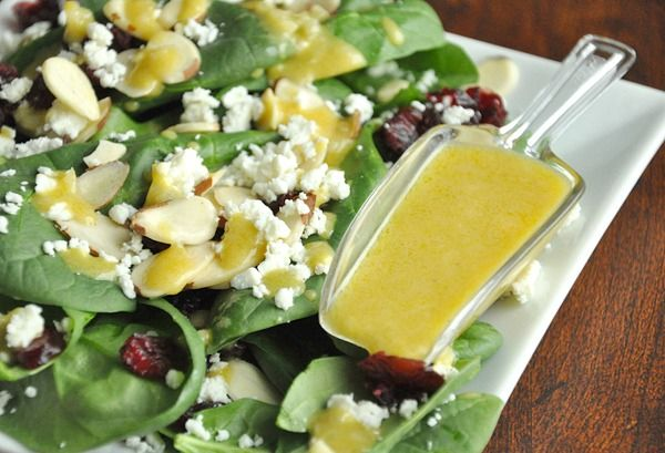 Peas and Crayons: Honey Dijon Vinaigrette - I love how the dressing is ...