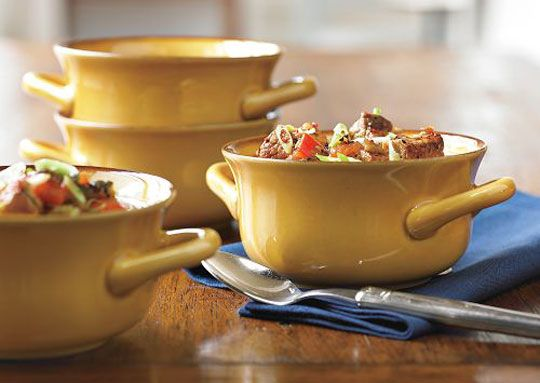 These are awesome soup bowls... William-Sonoma $49.