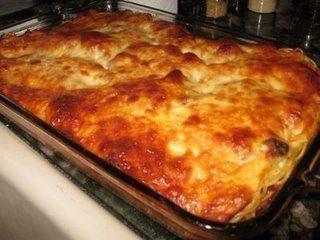 Million Dollar Spaghetti (like lasagna but easier.)