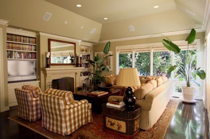 Family. Room. | LIVING ROOM DECORATING IDEAS | Pinterest