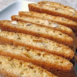 Honey Biscotti with Candied Orange Peels and Almonds!--didn't see a ...