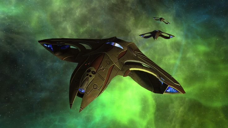 Romulan Talvath Class Temporal Destroyer (Video Game)