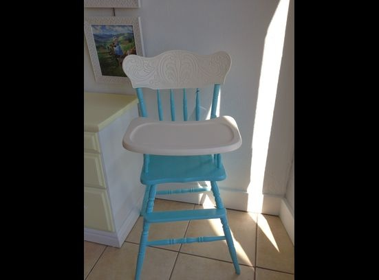 Old fashioned wooden high chair high chair pinterest