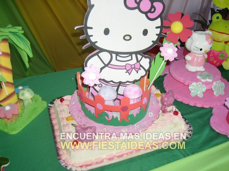 Kitty Decoracion De Tortas ~ idea de Torta Hello Kitty 1  Decoraci?n de tortas  cake  Pinterest