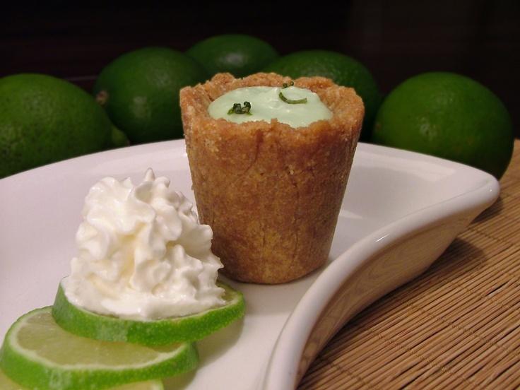 Shotibles: Key Lime Pie Shots | beverage & then some | Pinterest