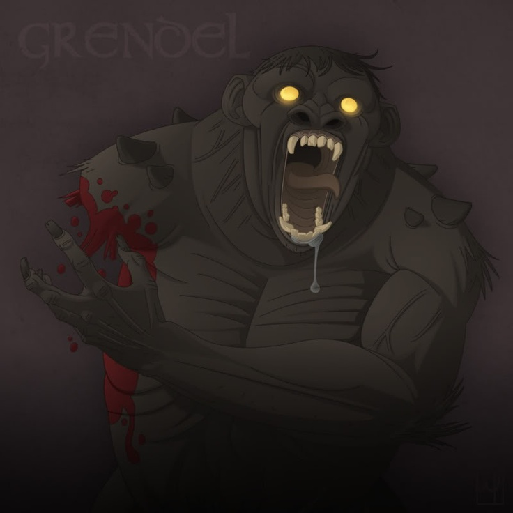 motifs in grendel Grendel has a hard time finding his place in the world, and this is made even more difficult by watching the brute, unthinking creatures who seemed to live and breathe without one iota of angst th grendel's home life does nothing to improve his sense of self or help him understand his place in.
