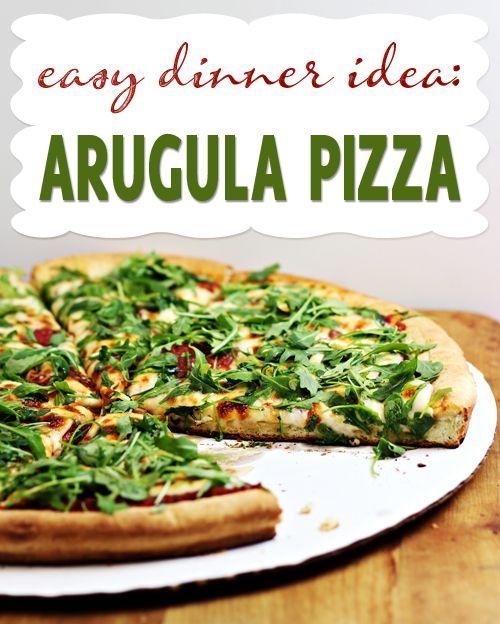 Arugula Pizza | Recipe