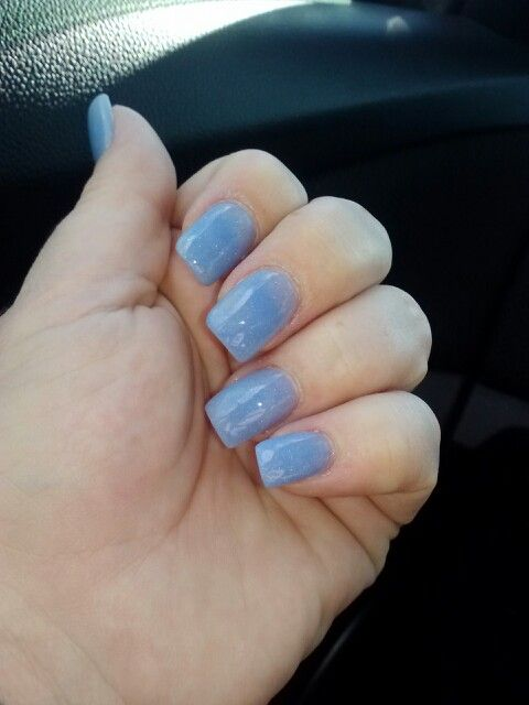 baby blue acrylic my nails my nail art pinterest