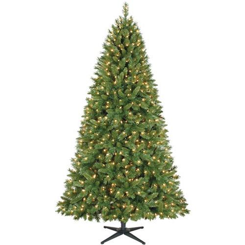 Time pre lit 7 5 kennedy fir artificial christmas tree clear lights
