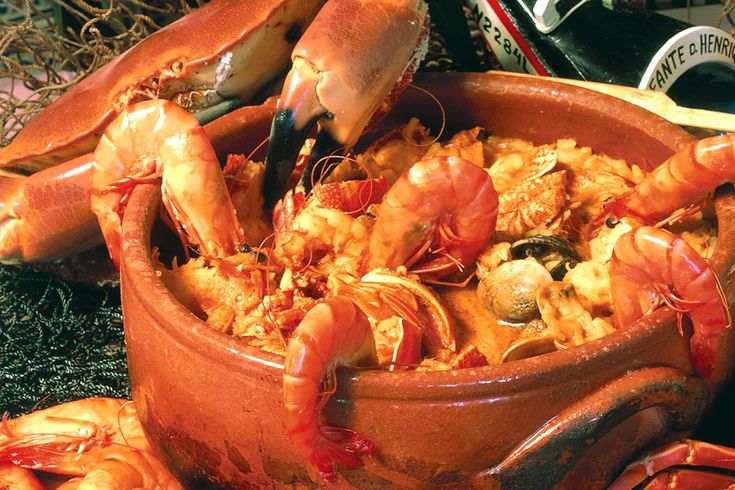 Great portuguese seafood stew. | Everything Portuguese | Pinterest